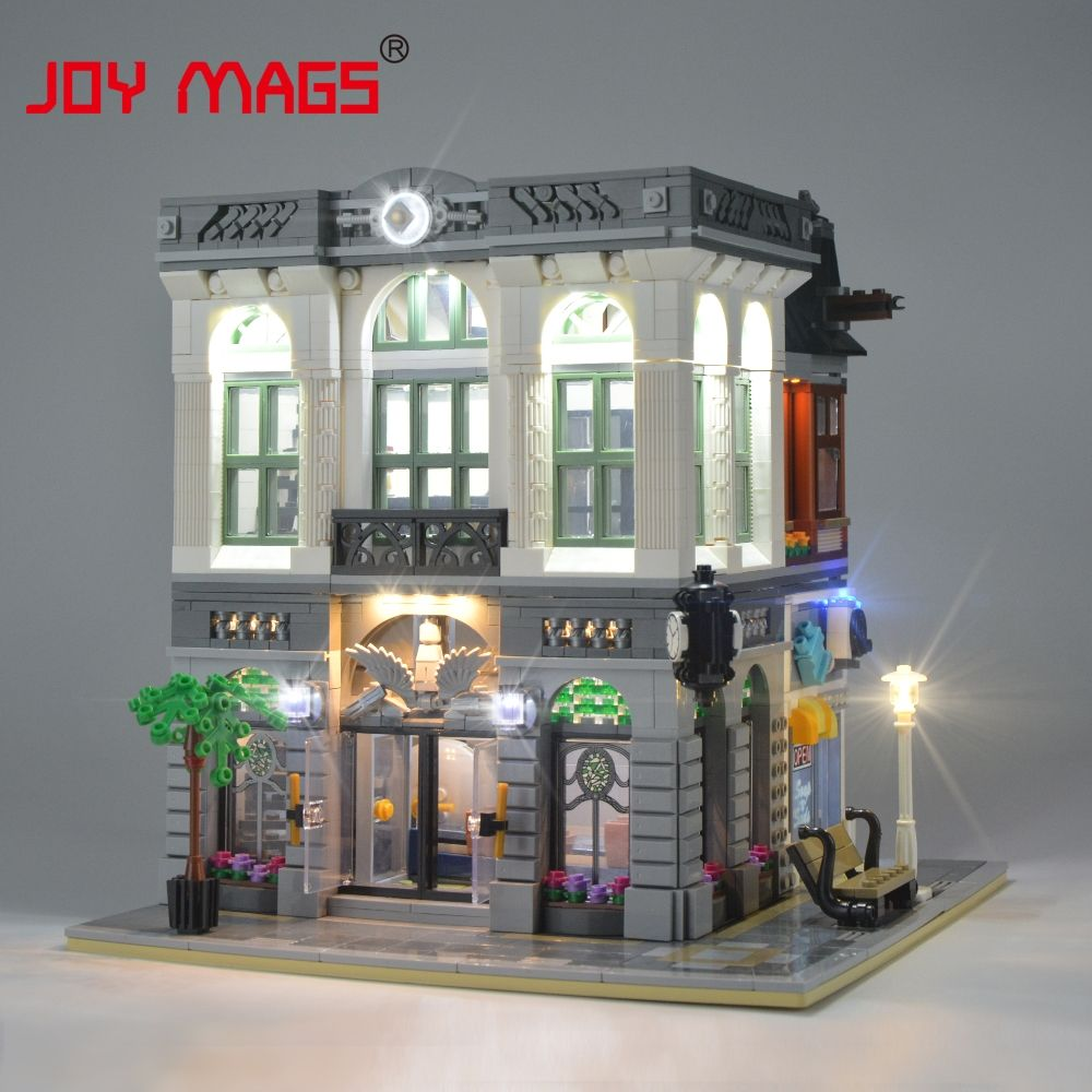 JOY MAGS Led Light Kit For CreatorBrick Bank Light Set Compatible With 10251 And 15001