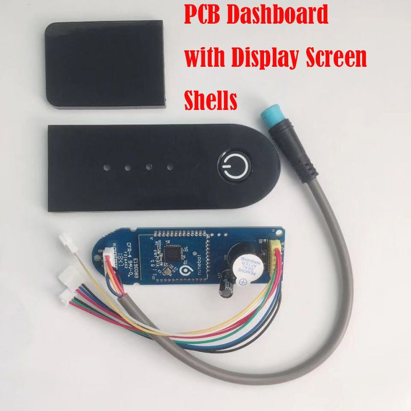 BT Circuit Boards PCB Dashboard with Display Screen Shell Cover Case for XIAOMI MIJIA M365 BIRD Scooter Skateboard Circuit Board