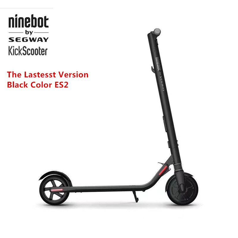 Original Ninebot KickScooter ES2 Smart Electric Scooter foldable lightweight long board hoverboard skateboard 25KM with APP