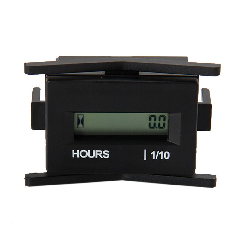 Free Shipping!Digital Waterproof DC4.5V-60V Powered Engine Hour Meter Used For Diesel Engine,Machine,Equipment,Tractor,Boat