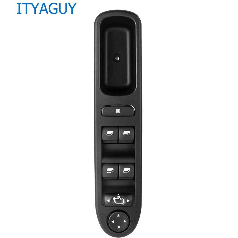 6554. KT 6554KT LHD maître interrupteur de commande de fenêtre électrique pour Peugeot 307 Break 2000-2014 307SW 2002-2014 307CC 2003-2014