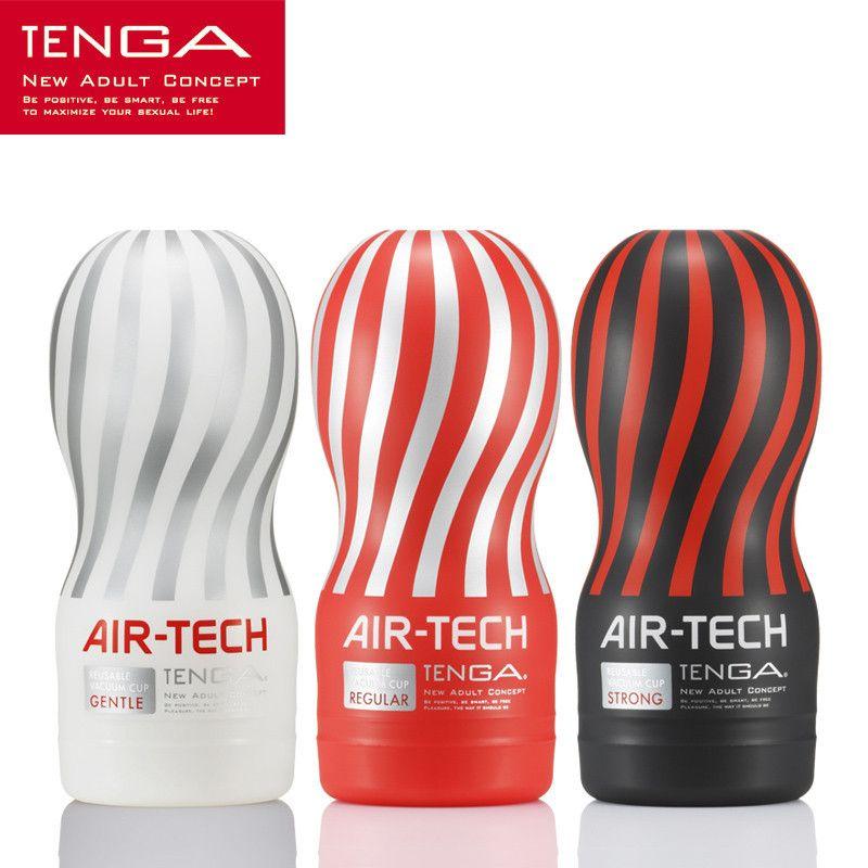 Japon Original Tenga air-tech réutilisable sous vide sexe tasse, Silicone souple vagin vraie chatte Sexy poche mâle masturbateur tasse jouets sexuels