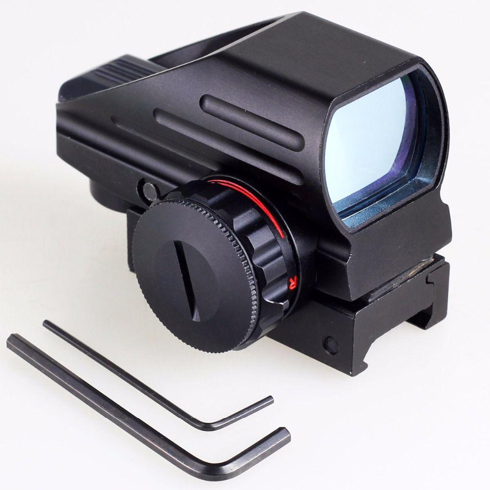 Tactique rouge-vert Laser Point Point visée portée tactique réflexe fusil à Air comprimé pistolet Airgun chasse Rail mont 12 GA 20mm