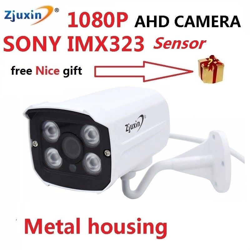 ZJUXIN 1080P/4MP ahd camera <font><b>4pcs</b></font> array LED SONY IMX323/OV4689/IMXSONY326 solution Good day night image for outdoor waterproof
