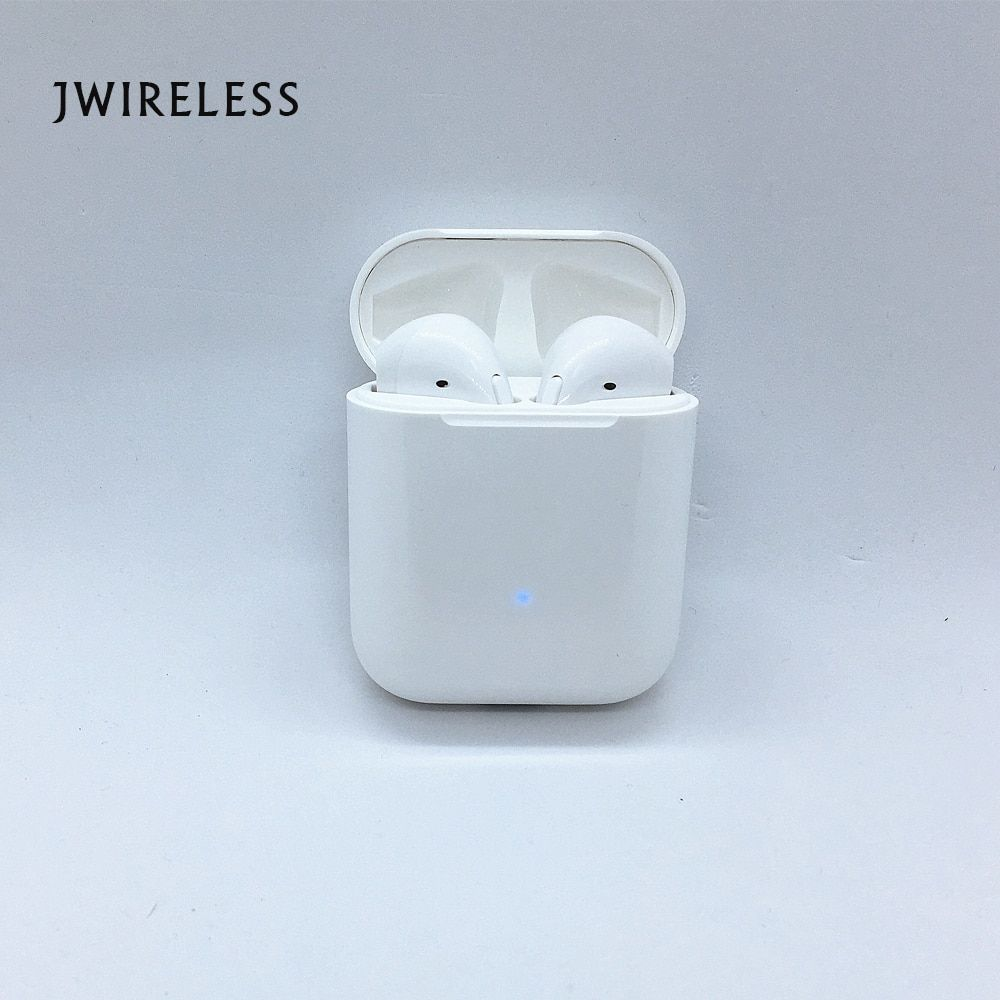JWIRELESS High Quality TWS Earbuds with Microphone Bluetooth Earphone fone de ouvido Wireless Hifi Stereo Magnetic charging