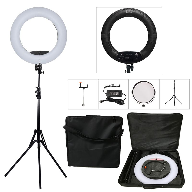 Yidoblo Black FS-480II 2 Colors adjust Camera Photo/Studio/Phone/Video 18