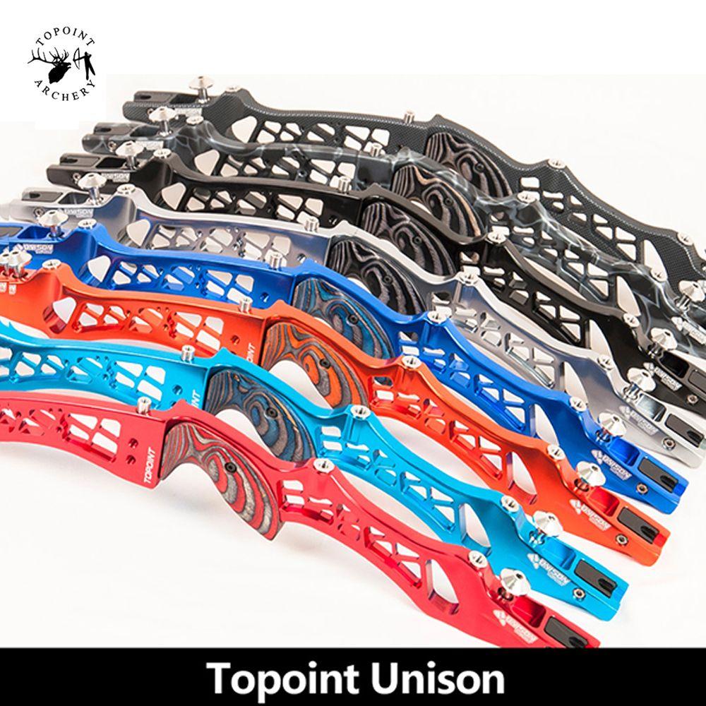 8 farbe Recurve Bogen Riser Länge 25 zoll Aluminium legierung 6061-T6 Gleiche Farbe Holz Griff RH eine LH für Outdoor bogenschießen