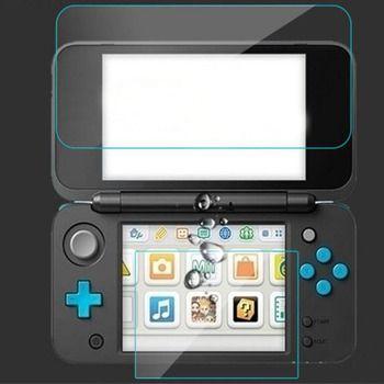 Top Gehärtetem Glas LCD Screen Protector + Bottom Klar Full Cover Schützende Film Schutz für Nintendo Neue 2DS XL/ LL 2 DSXL/2 DSLL