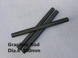 Karbon batang grafit grafit batang Dia.6 * 300mm tebal pencampuran aduk batang karbon/GRATIS PENGIRIMAN 5 pcs