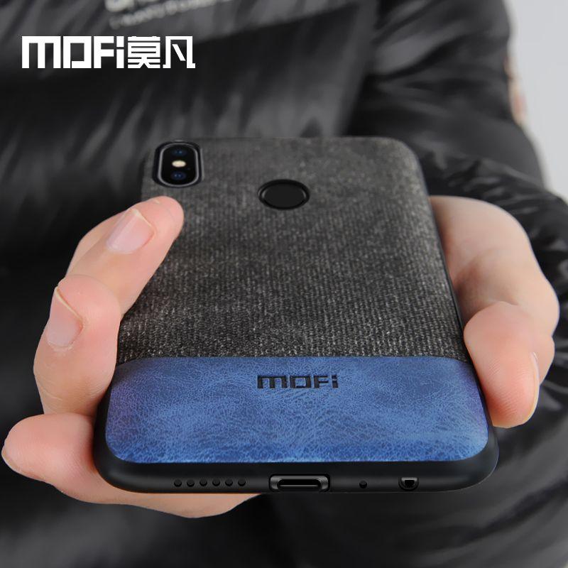 Xiaomi Redmi Note 5 housse note5 Mondial Version de couverture arrière de silicone bord tissu cas coque MOFi Redmi note 5 pro cas