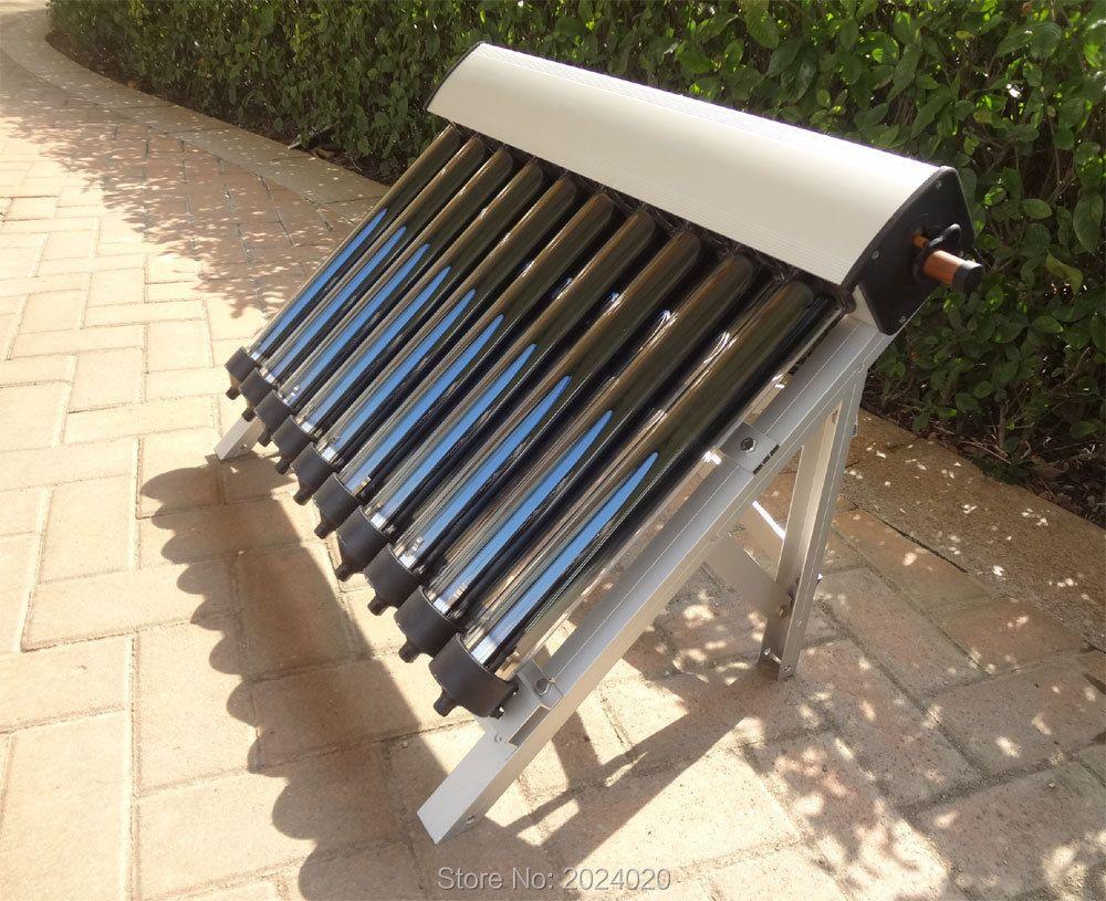 1 set von Solar Sammler von Solar Wasser Heizung, 10 Vakuumröhren, Heatpipe Vakuum Rohre, neue