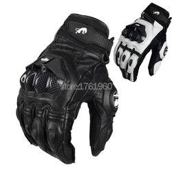201Hot Vente Professionnel moto gants Furygan AFS6 Moto Racing Gants En Fiber De Carbone En Cuir Guantes Sportwear main protecteur