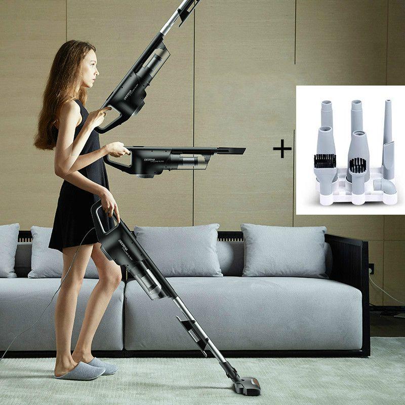 DEERMA Strong vacuum cleaner High Power Silent Handheld carpet vacuum cleaner