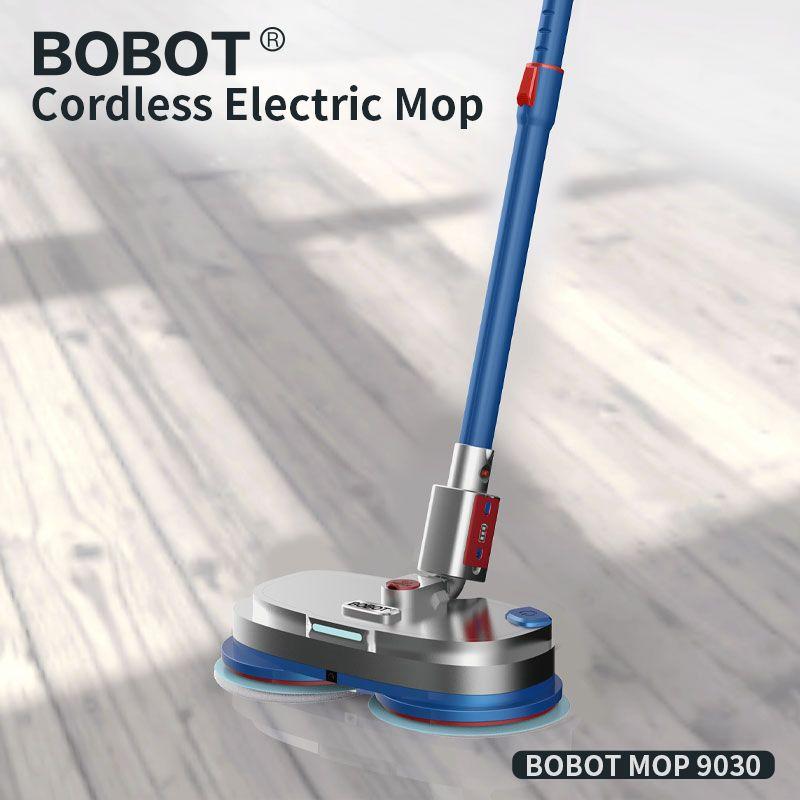 BOBOT MOPP 9030 Cordless Elektrische Boden Mopp Kehr Und Wachsen, Elektrische Spray Wasser Mopp Kehrmaschine