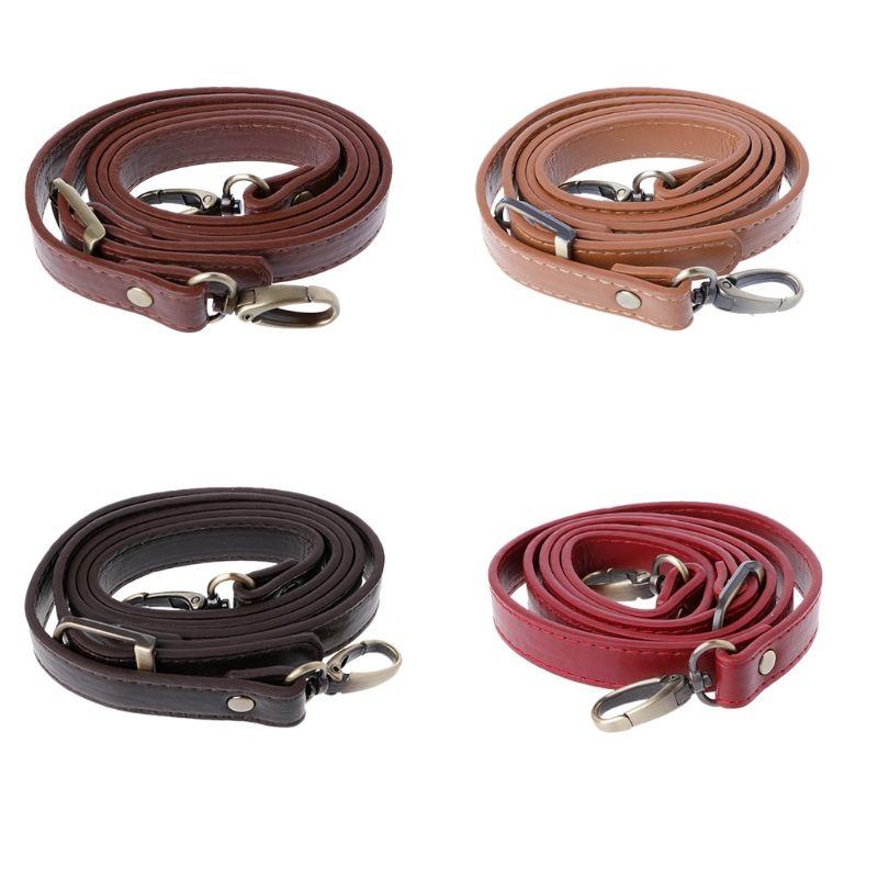 110-120 cm réglable sac sangle en cuir sac poignée sangle épaule bandoulière sac à main poignée remplacement pour bricolage accessoires KZ0075