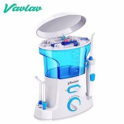 Vaclav Dental Flosser Irrigador Oral Agua Flosser Hilo Dental Irrigador Oral Dental Floss Agua Recogida de Agua Portátil Riego