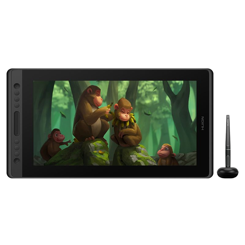 HUION Kamvas Pro 16 GT-156 Graphic tablet Zeichnung tablet Digital Monitor 8192 Ebenen mit Verknüpfung tasten und Verstellbaren Ständer