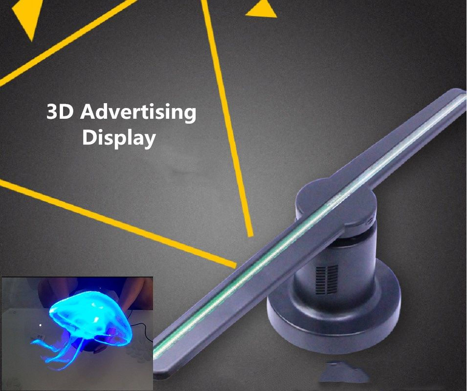 3D Logo Projector Advertising Display 20W Fan Holographic Moving Head Light Holiday Decoration Led door light Laser Lamp ghost