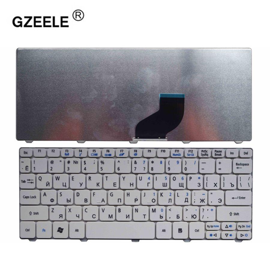 GZEELE RU NEUE laptop-tastatur für ACER NSK-AS01D V111102AS5 NSK-AS40R V111102AS3 NSK-AS00R PK130E91A04 NSK-AS10R 9Z. N3K82. A0R