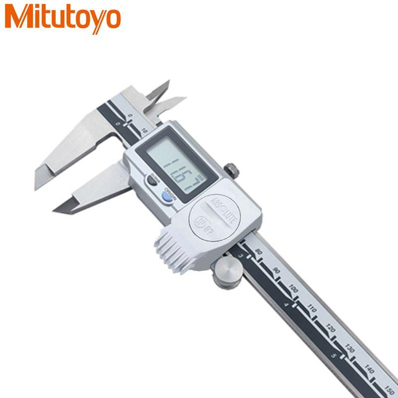 100% Original Japan Mitutoyo IP67 Water-Proof Digital Caliper 0-150mm/0.01mm Vernier Calipers Micrometer Gauge Measuring tool