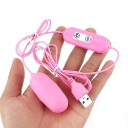 12 частота USB заряжаемый Вибрационный яиц вагинальный шар мини G-Spot вибратор для стимуляции клитора Секс-игрушки для женщин