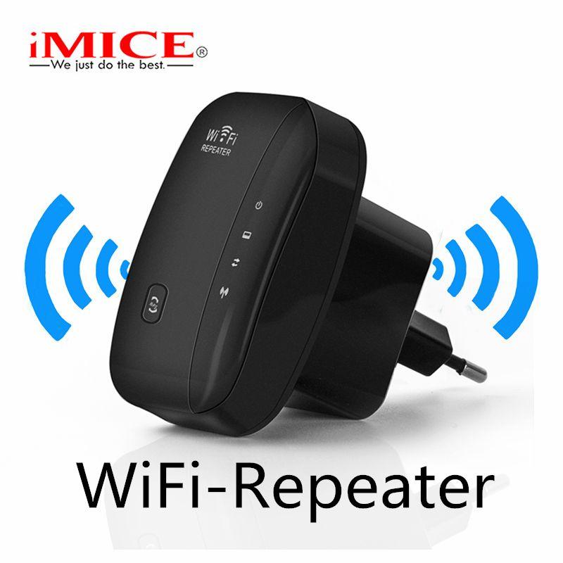 IMice répéteur WiFi Extender Wi Fi amplificateur sans fil 300 M 802.11n g b gamme de Signal Booster Reapeter Point d'accès wi-fi pour SOHO