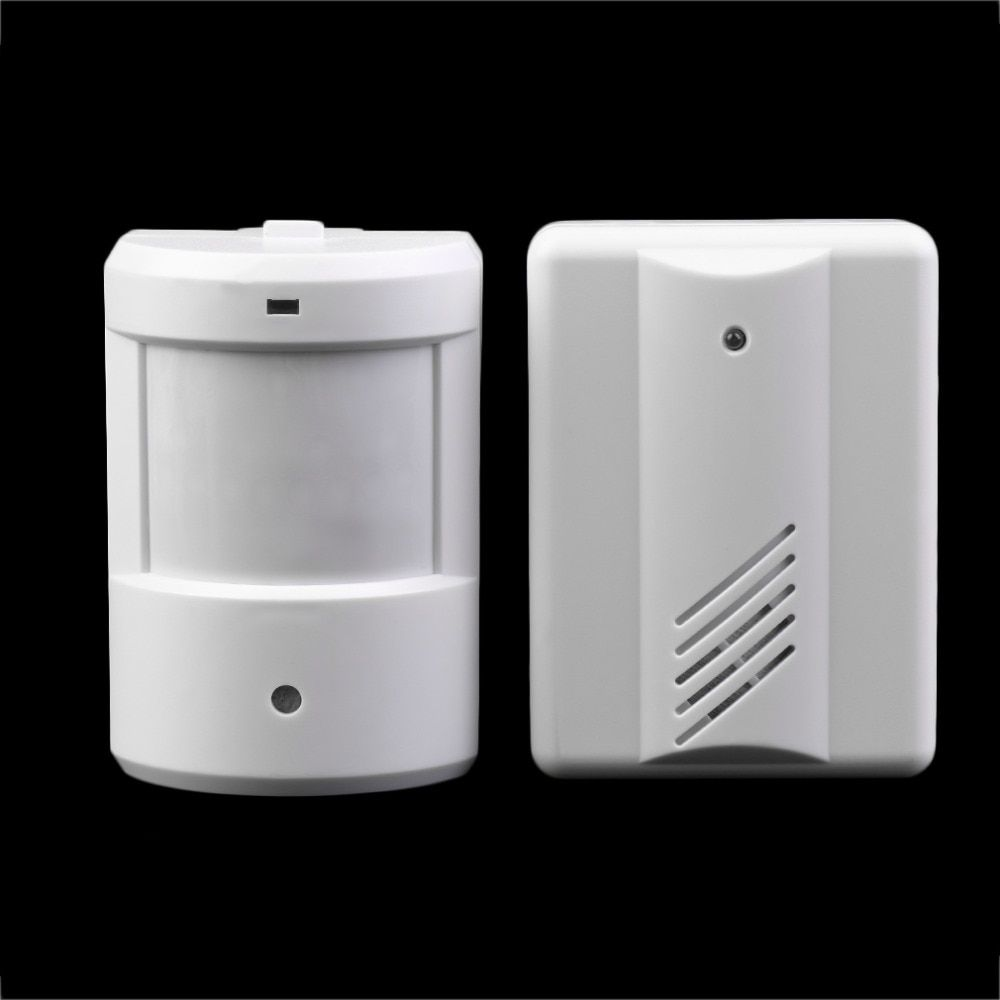 Einfahrt Patrol Garage Infrarot Drahtlose Türklingel Alarm System Motion Sensor Home Security Alarm Bewegungsmelder