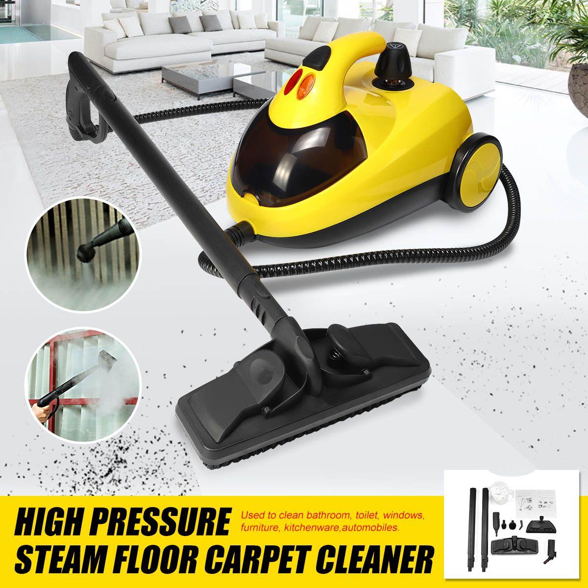 Hochdruck Dampf Boden Teppich Reiniger Waschmaschine Reinigung Maschine 13in1 AU220V 1.5L4.0 1800W Bar 360 Rad für Sauberes Bad auto