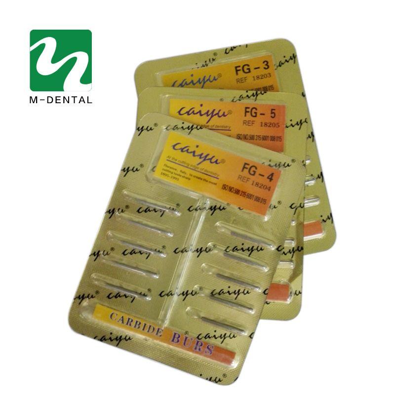10 pcs/paquet fraises dentaires en acier au carbure de tungstène/Fissure pour pièce à main à grande vitesse Bit matériel dentaire de haute qualité livraison gratuite