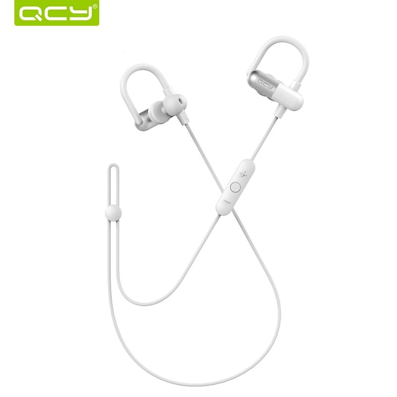 QCY QY11 Sports Bluetooth Earphone Sweatproof Wireless Headset with Microphone Running Music Earbuds for Iphone,Xiaomi,Samsung