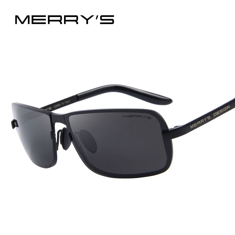 MERRYS Design Men Classic CR-39 Sunglasses HD Polarized Sun glasses Luxury Shades UV400 S8722