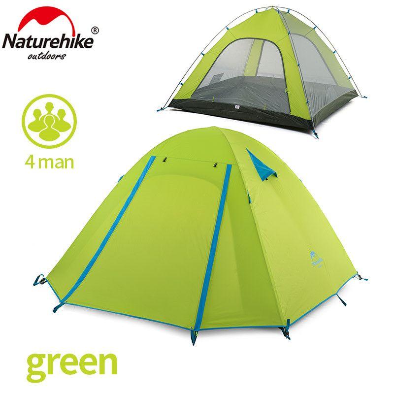 NatureHike P Serie Classics Zelt 210 T Stoff Für 4 Person NH15Z003-P