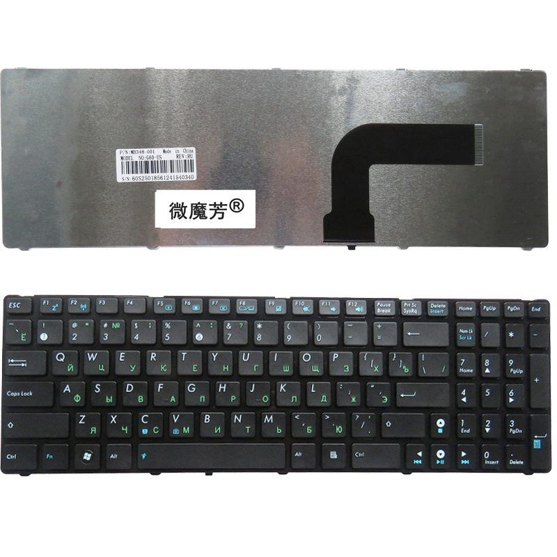RU Black New FOR ASUS K73SV A73 A73B A73E A73S A73T K72D K72DR K72DY K72J Laptop Keyboard Russian