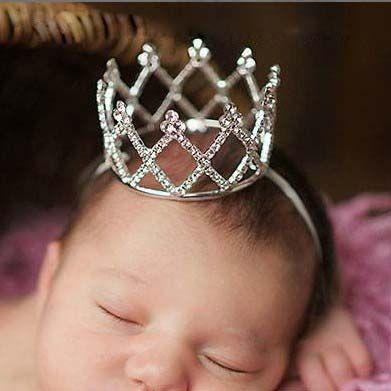 Для новорожденных фотографировал корона принцессы Обувь для девочек Корона диадема для вечеринок и торжеств тиара Hairbands Интимные аксессуа...