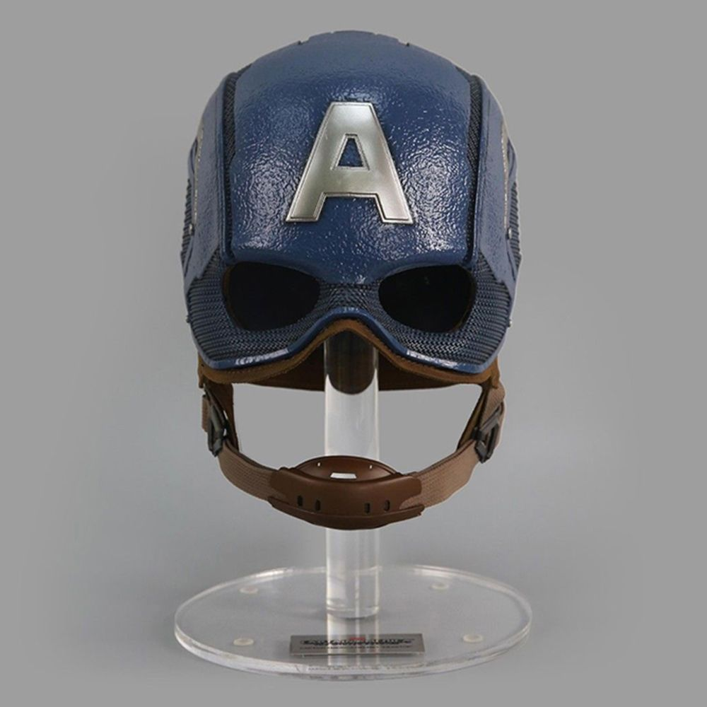 König Kunst MPS028 Typ 1/1 Skala Tragbare Kapitän Amerikanischen Helm für Echt Mann Cosplay Spielzeug Sammlerstücke
