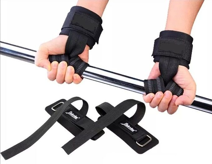 AIBOULLY 1 paire 5mm épaissir durable horizontale haute barre pull-up entraînement Gym gant gants mitaines ceinture haltérophilie