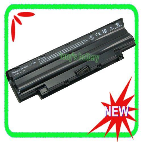 6 cellules batterie d'ordinateur portable pour dell inspiron 14r n4010 n4010d 13r n3010d n3110 n7010 j1knd n5010 n3010 04 04yrjh