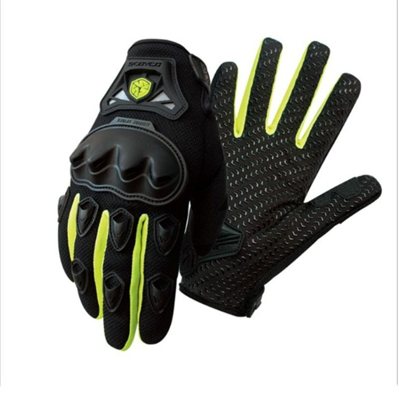 Scoyco Motorcycle gloves Off road moto gloves Protective Motocross racing gloves Moto Guantes Motocicleta Luvas