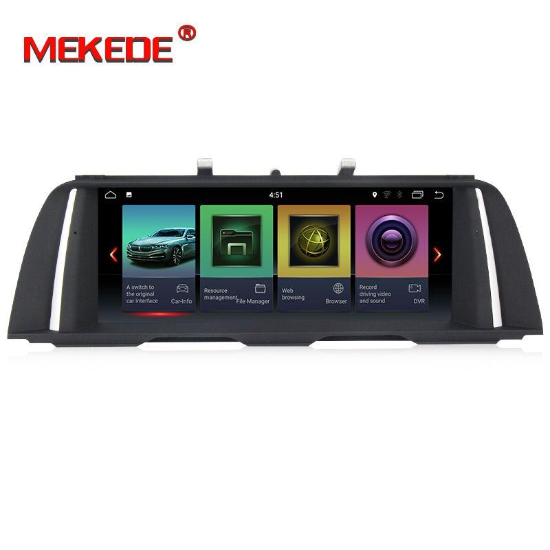 HD Auto Multimedia-player 2 din android 7.1 PX3 10,25 Zoll Für BMW 5 Series F10/F11/520 (2011-2016) für CIC/NBT GPS Radio 32 GB