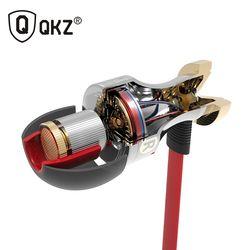In-Ear Earphone QKZ KD1 Special Edition Headset Clear Bass Earphones With Microphone fone de ouvido audifonos Headset