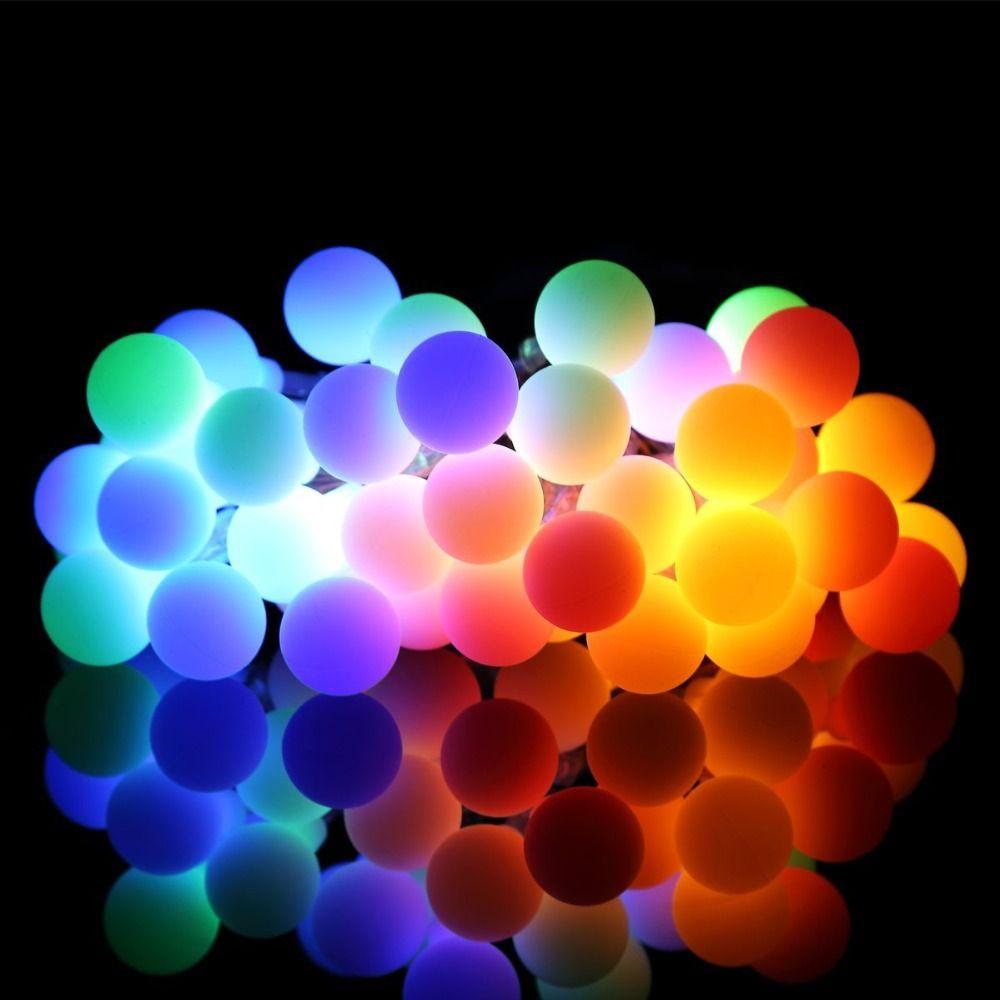 Светодиодные огни строки 10 м 100 светодиоды AC 220 В IP44 многоцветный освещение для новогодние гирлянды Праздник Свадьба фонарь освещения