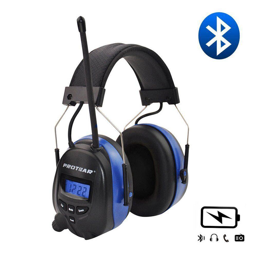 Batterie au lithium Bluetooth Électronique Tir oreilles Protection Auditive FM/AM Radio Oreille Défenseurs Tactique Protecteur