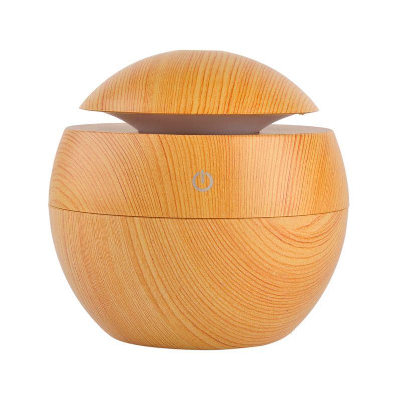Désodorisant en bois mouillant chambre salon bureau USB humidificateur humidificateur Volume d'eau décoration de la maison produits