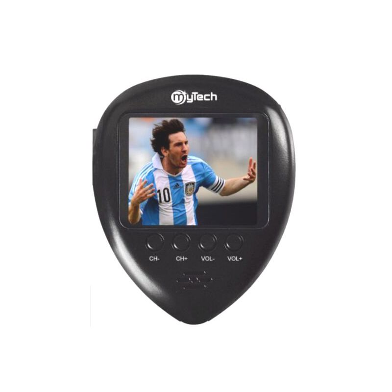 1.8 inch Outdoor Mini POCKET FM Radio with Analog TV and Watch function