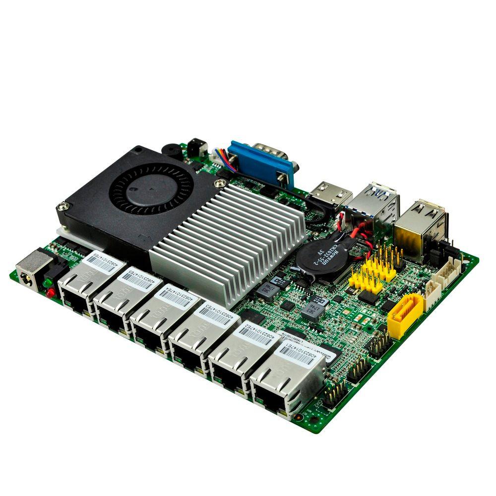 6 gigabit LAN PC board Core i5-6200U 3M Cache, up to 2.80 GHz 6th Generation Q6200UG6-P AES-NI Kabylake Platform 12V