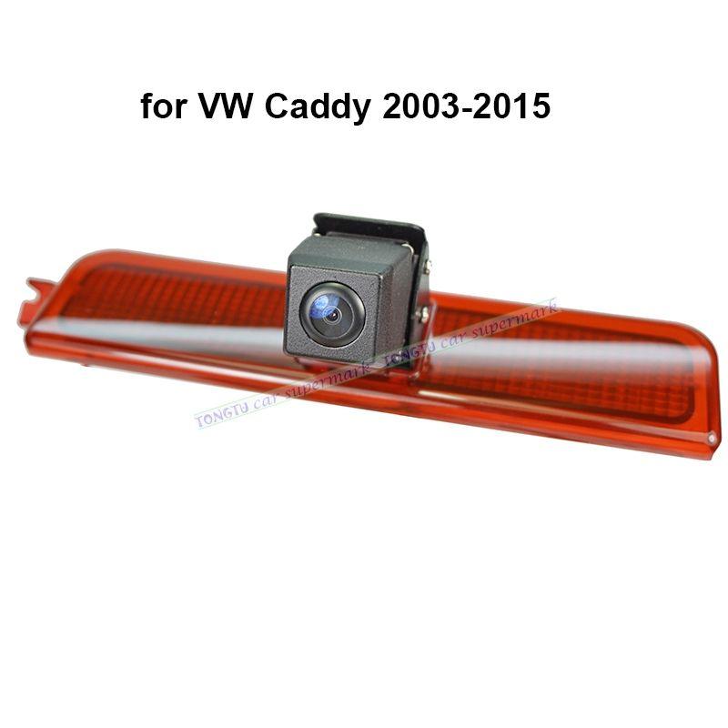Wasserdichte Nachtsicht CCD Auto Bremslicht LED Rückansicht Kamera für Caddy von 2003 zu 2015 Backup Reverse Parkplatz kamera