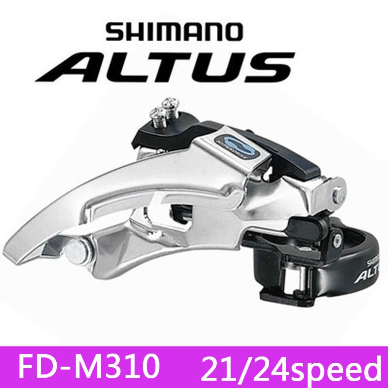 SHIMANO ALTUS FD-M310 Front Derailleurs MTB Bike Mountain Bicycle Parts for 3x8S 24S Speed