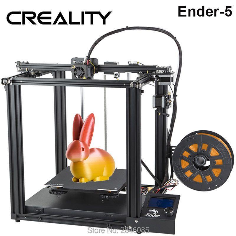 CREALITY 3D Drucker Creality Ender-5 mit Landy stabile Power, V1.1.3 mainboard, magnetische bauen platte, power off lebenslauf