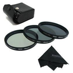 RISE (UK) 49mm 52mm 55mm 58mm 62mm 67mm 72mm 77mm Neutral Density Filter Objektiv set Kit ND2 ND4 ND8 ND 2 4 8