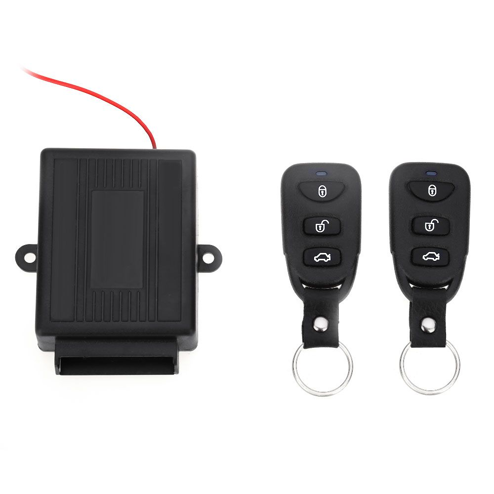 Universal Car Vehicle Remote Central Kit Alarm Systems Door Lock Vehicle Keyless Entry System New With Remote Controllers